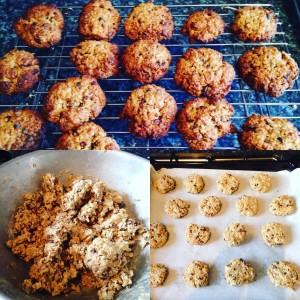 Cacao Nib Oat Cookies